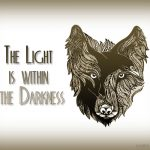 The light is within the darkness image